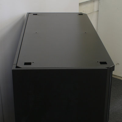 Gispen Octa Roldeurkast Zwart H104xB123xD51