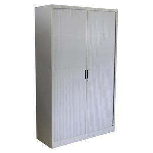Roldeurkast Wit Wit 195 x 120 x 45