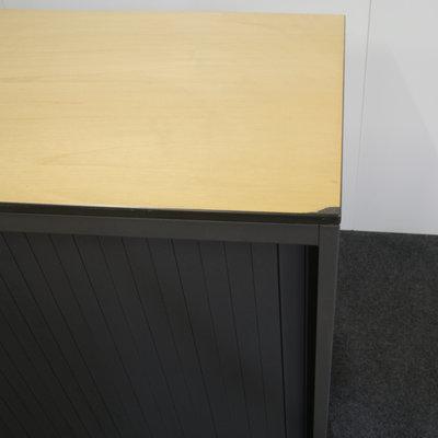 Ahrend Roldeurkast Antraciet Antraciet Beuken 74 x 80 x 45 B-keus