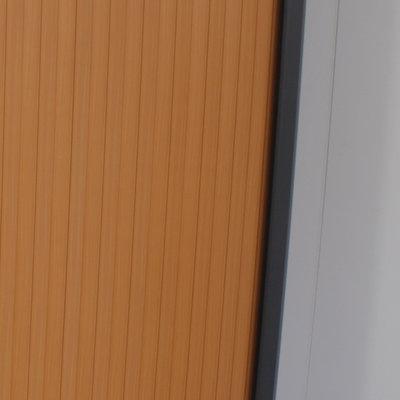 Roldeurkast Antraciet Beuken H197xB120xD45