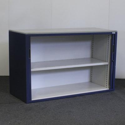 Aspa Roldeurkast Blauw Blauw Lichtgrijs 75 x 120 x 47