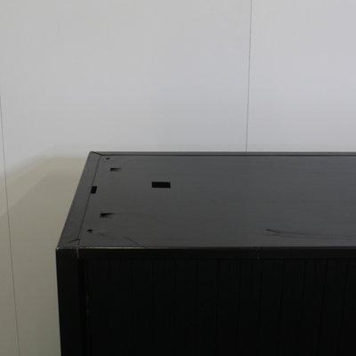 Roldeurkast Zwart Zwart 72 x 120 x 47