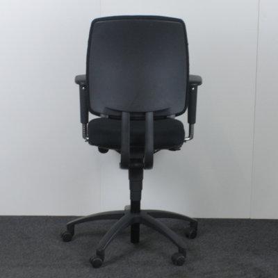 Drabert Entrada Bureaustoel Zwart Antraciet Nieuwe Stof