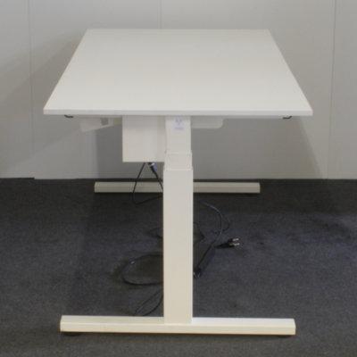 Vepa Elektrisch Zit Sta Bureau Wit Wit 160 x 80