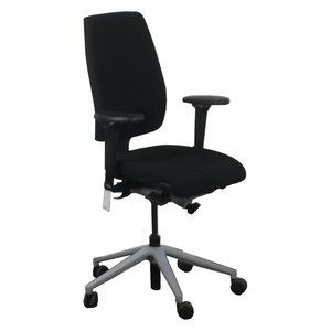 Giroflex 68 Bureaustoel Zwart Lichtgrijs 3D Arm