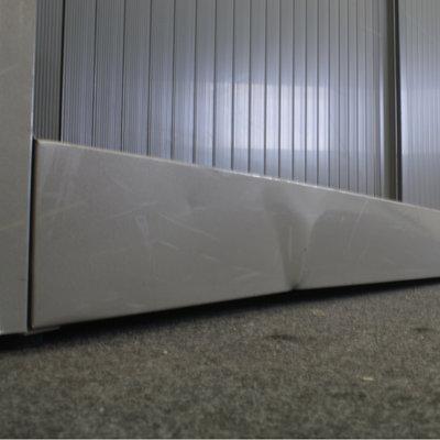 Ahrend Roldeurkast Zilvergrijs Grijs 195 x 120 x 45 B-Keus