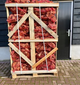 Eikenhout ovengedroogd  72 netzakken