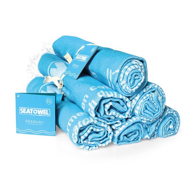 Seatowel Seatowel, Badhanddoek, Blauw, 100 x 170 cm