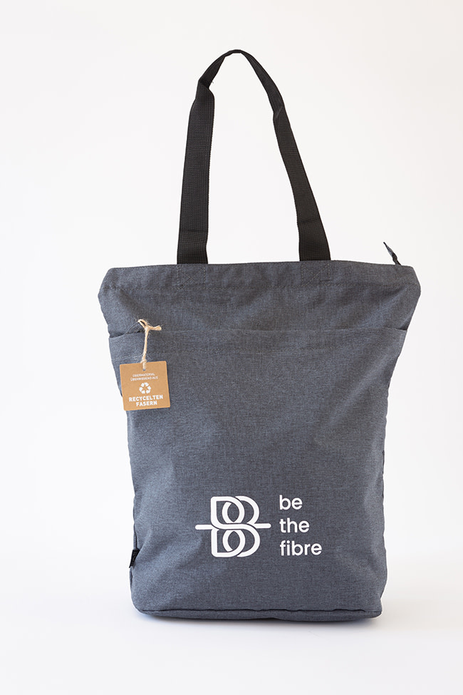be the fibre be the fibre, Urban Shopper, Ritssluiting