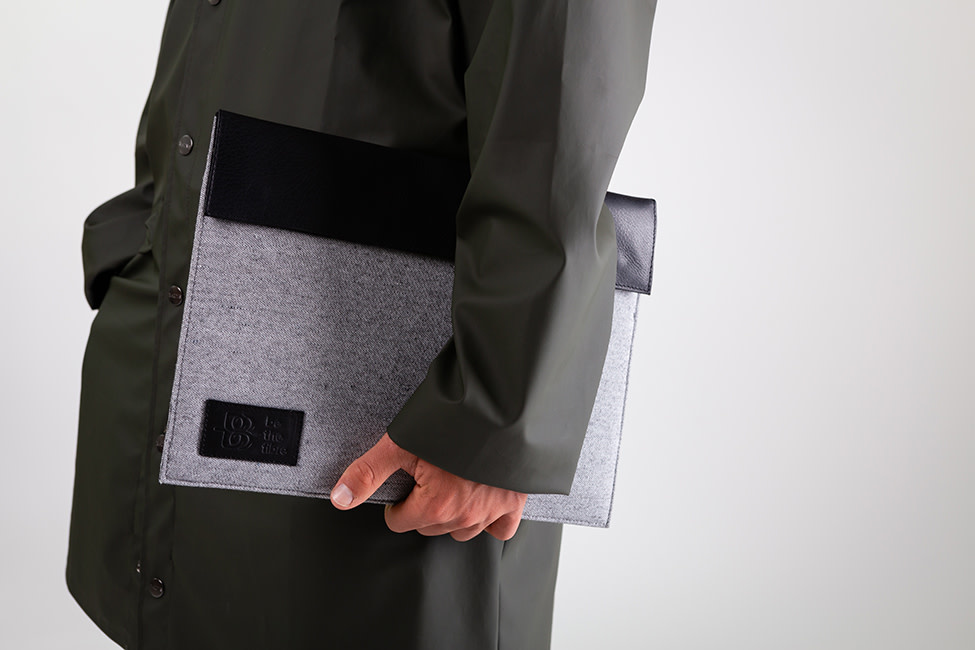 be the fibre be the fibre, Laptop Beschermhoes, 13,3 inch / Apple Airbook