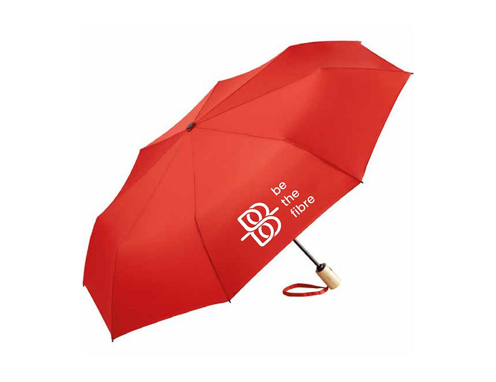 be the fibre be the fibre, Opvouwbare paraplu