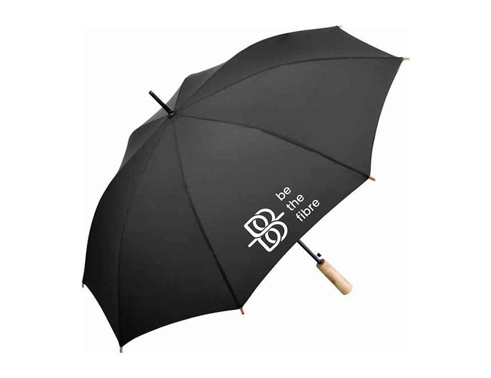 be the fibre Marie paraplu, Midsized Stokparaplu