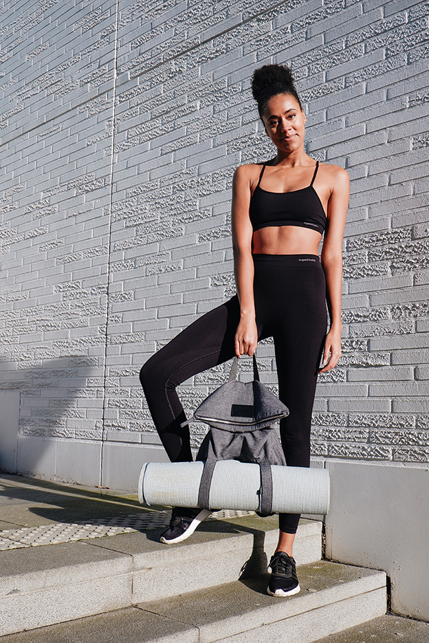 be the fibre be the fibre Yoga Bag