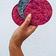 be the fibre Coaster (onderlegger) Vilt Pakket be the fibre