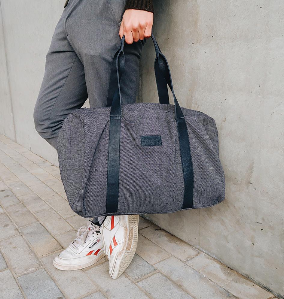 be the fibre John Bag - Weekend/Sport Tas