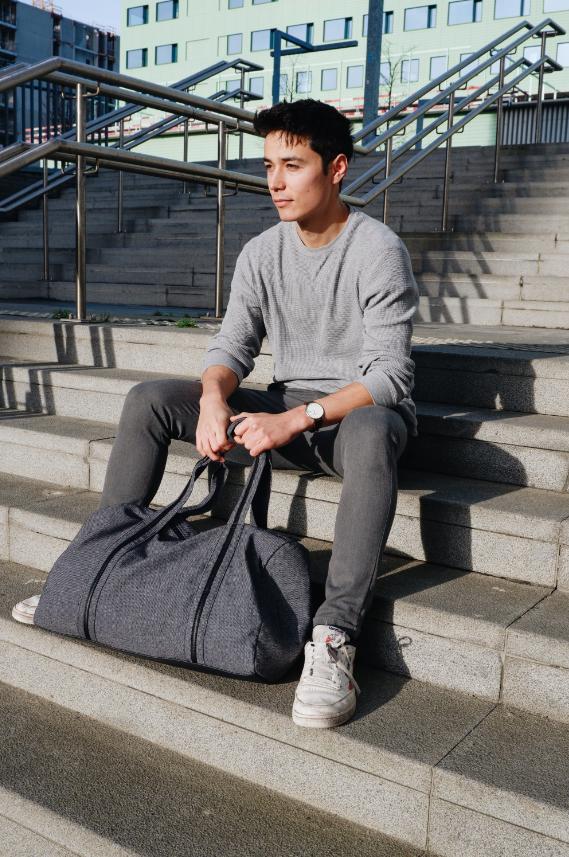 be the fibre Max Bag - Weekend/Sport Tas
