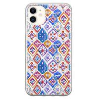 iPhone 11 siliconen hoesje - Boho vibe