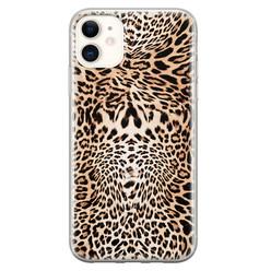 iPhone 11 siliconen hoesje - Wild animal