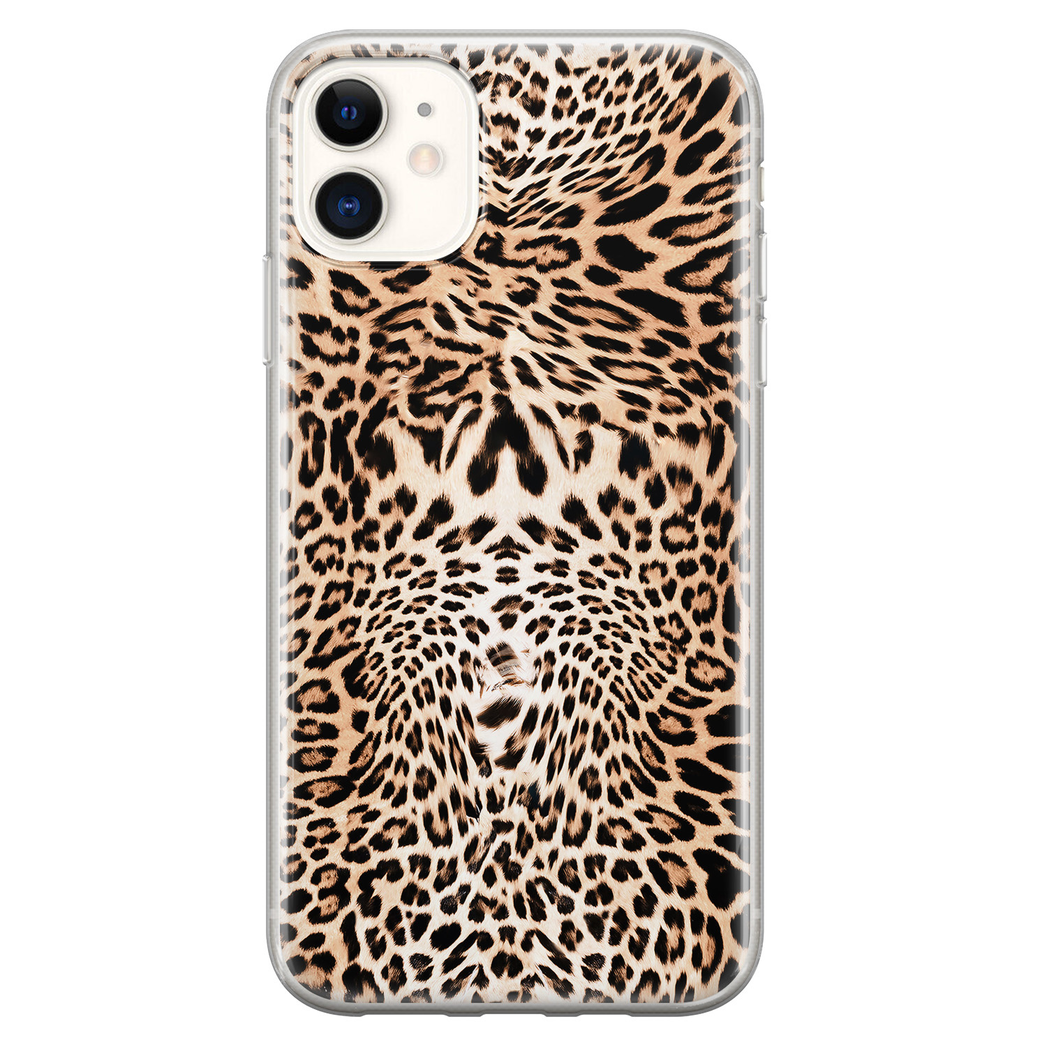 iPhone 11 siliconen hoesje - Wild animal