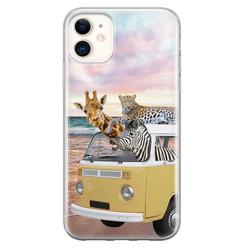 Leuke Telefoonhoesjes iPhone 11 siliconen hoesje - Wanderlust