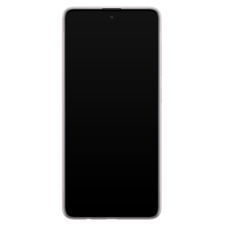 Samsung Galaxy A51 siliconen hoesje - Golden agate