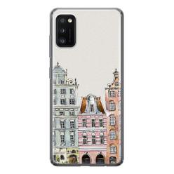 Leuke Telefoonhoesjes Samsung Galaxy A41 siliconen hoesje - Grachtenpandjes