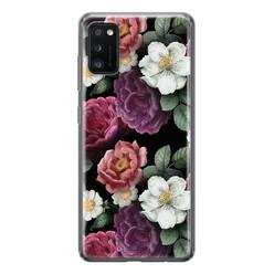 Leuke Telefoonhoesjes Samsung Galaxy A41 siliconen hoesje - Bloemenliefde