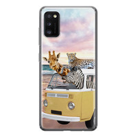 Samsung Galaxy A41 siliconen hoesje - Wanderlust