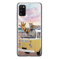 Leuke Telefoonhoesjes Samsung Galaxy A41 siliconen hoesje - Wanderlust