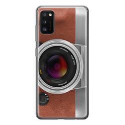 Leuke Telefoonhoesjes Samsung Galaxy A41 siliconen hoesje - Vintage camera
