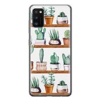 Samsung Galaxy A41 siliconen hoesje - Cactus
