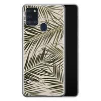 Samsung Galaxy A21s siliconen hoesje - Leave me alone