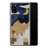 Samsung Galaxy A41 siliconen hoesje - Desert night