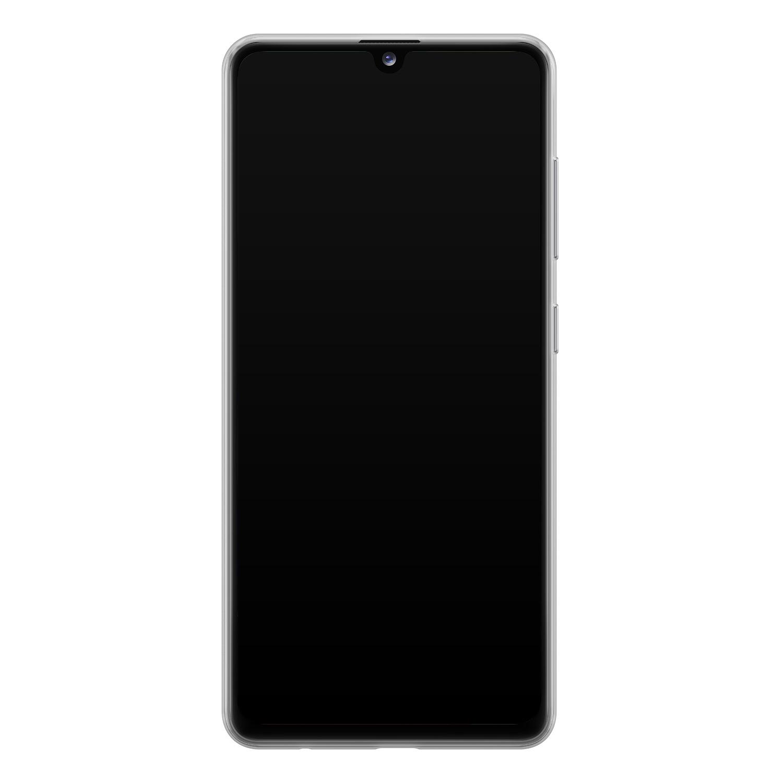 Samsung Galaxy A41 siliconen hoesje - Retro zigzag