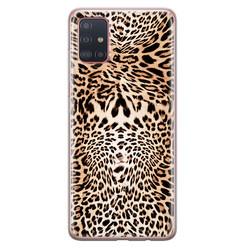 Samsung Galaxy A71 siliconen hoesje - Wild animal