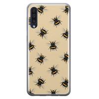 Samsung Galaxy A50/A30s siliconen hoesje - Bee happy