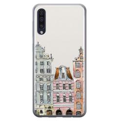 Leuke Telefoonhoesjes Samsung Galaxy A50/A30s siliconen hoesje - Grachtenpandjes