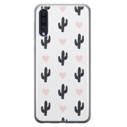Samsung Galaxy A50/A30s siliconen hoesje - Cactus love