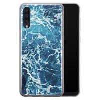 Samsung Galaxy A50/A30s siliconen hoesje - Ocean blue