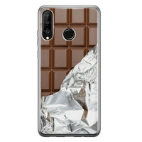 Huawei P30 Lite siliconen hoesje - Chocoladereep