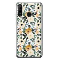Huawei P30 Lite siliconen hoesje - Lovely flower
