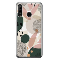 Huawei P30 Lite siliconen hoesje - Abstract print