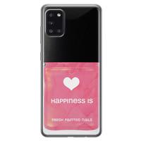 Samsung Galaxy A31 siliconen hoesje - Nagellak