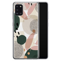 Samsung Galaxy A31 siliconen hoesje - Abstract print