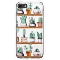iPhone SE 2020 siliconen hoesje - Cactus