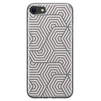 iPhone SE 2020 siliconen hoesje - Geometrisch