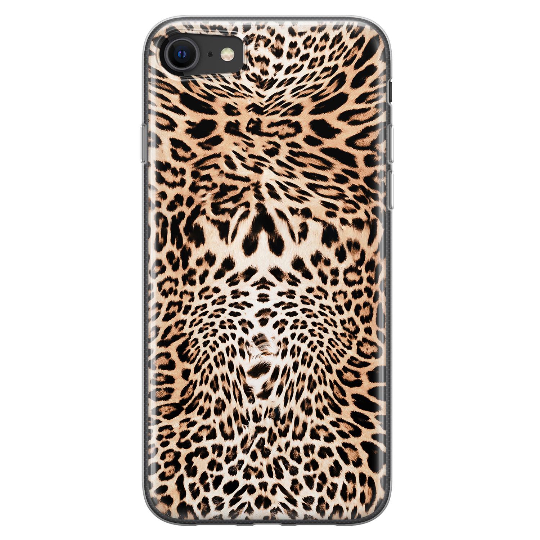 iPhone SE 2020 siliconen hoesje - Wild animal