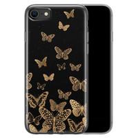 iPhone SE 2020 siliconen hoesje - Vlinders