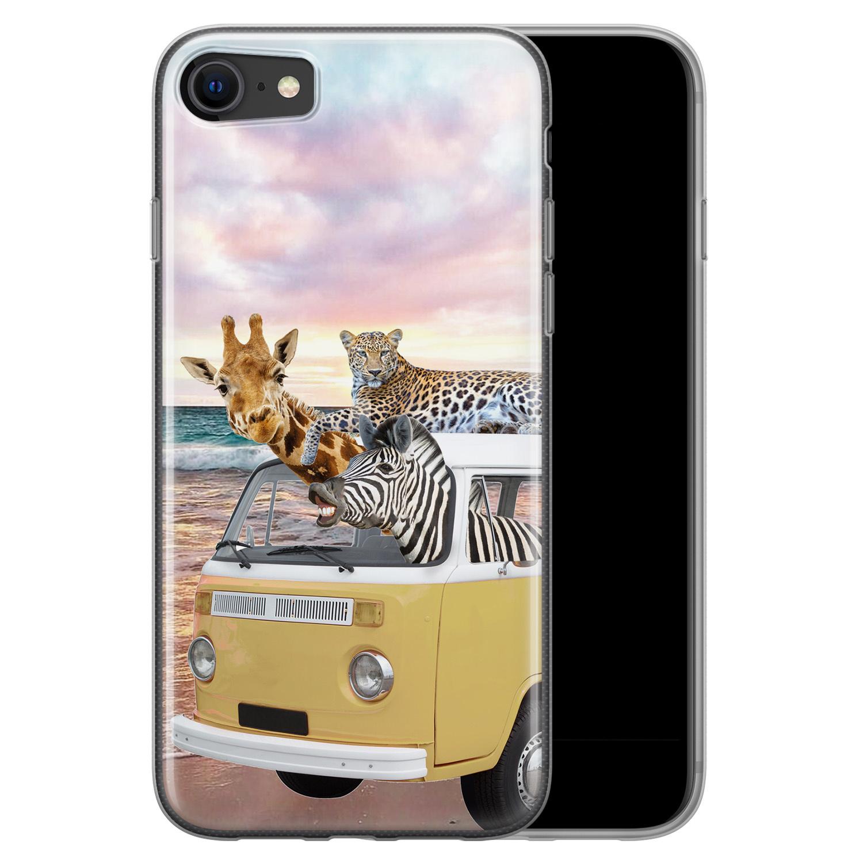iPhone SE 2020 siliconen hoesje - Wanderlust