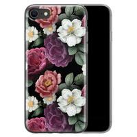 iPhone SE 2020 siliconen hoesje - Bloemenliefde